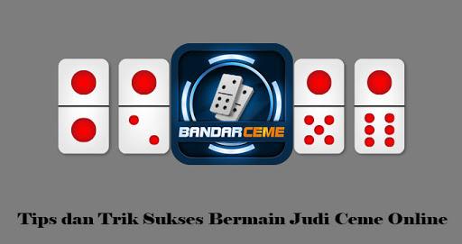 Permainan Judi Ceme Online Terdapat di Situs Internet